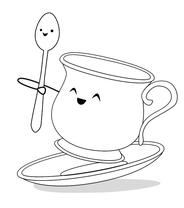 Just look how happy that spoon is.